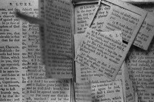 cut Bible
