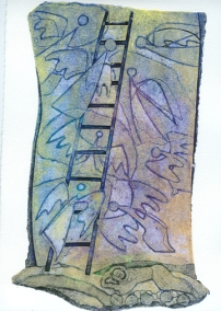 """Jacob's Ladder"" by Israeli artist Lika Tov"
