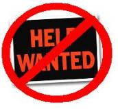 Image result for help not wanted sign
